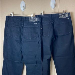 2 pair of vintage lucky jeans black sz 34 relaxed